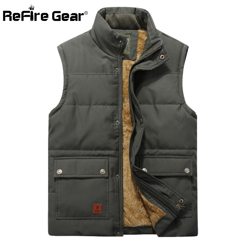 STARBILD Men Packable Padded Quilted Down Gilet Stand Collar Zipper Pockets Lightweight Outerwear