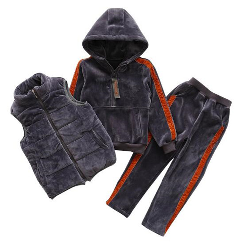 Winter Girls Clothing Set Kids Suit Set Three-Pieces Sport Suits Hooded Girl Tracksuit Children Clothing 6-15T Warm Velvet ThickWinter Girls Clothing Set Kids Suit Set Three-Pieces Sport Suits Hooded Girl Tracksuit Children Clothing 6-15T Warm Velvet Thick