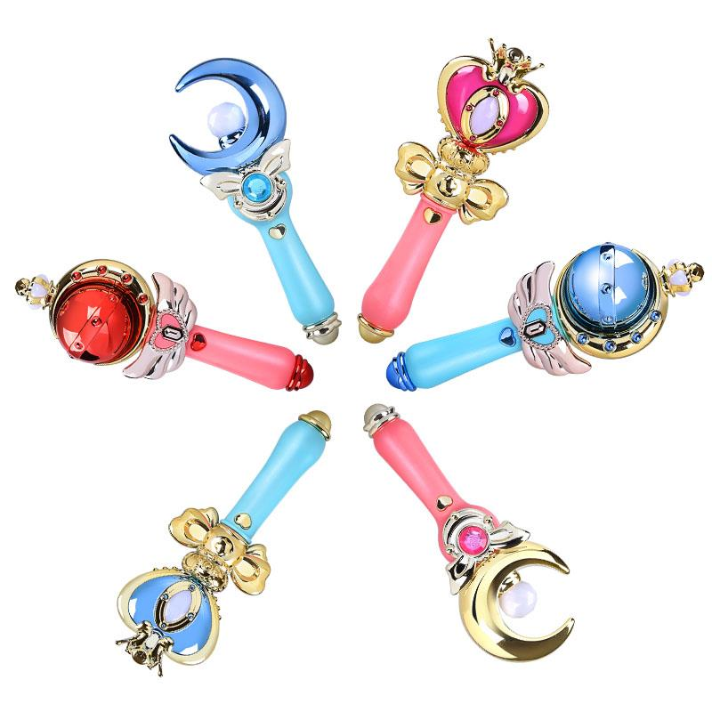 Anime Card Captor Sakura Sailor Moon Magic Stick Kids Magic Wand Cosplay Props Choice Materials Novelty & Special Use Costumes & Accessories