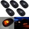 5 pçs/set Âmbar Luzes de Marcador de LED Car Telhado de Táxi Para O Caminhão SUV 4x4, LEVOU 12 V Preto Lente fumado/Lâmpada/carro luzes externas