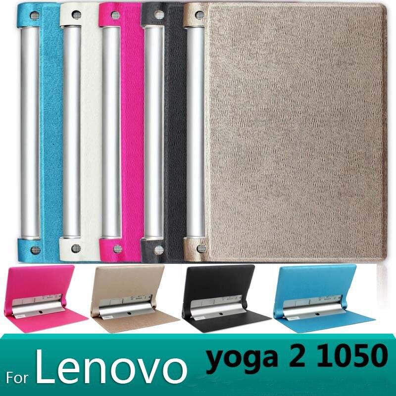 <+>  Lenovo Yoga Tablet 2 1050F чехол Smart PU кожаный чехол чехол lenovo Yoga Tablet 2 10 1050 чехол для ①