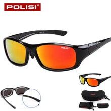 New 2017 Brand HD Polarized Cycling Glasses Men Women Outdoor Sports Windproof Cycling Eyewear Mountain Bike Bicycle Sunglasses