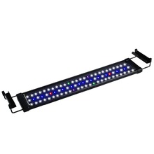 Nicrew ClassicLED 50-60cm Aquarium LED Lighting Fish Tank Light Lamp with Extendable Brackets 5 Colors LEDs Fits for Aquarium