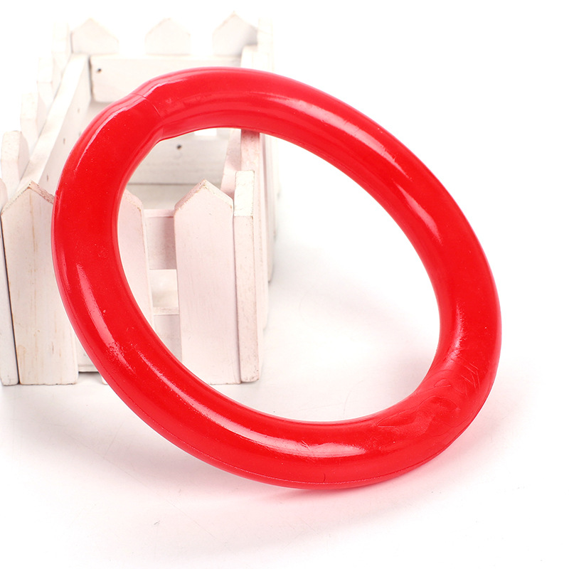 Pet Toy Resistance to Biting Teeth Floating Water Lifesaving Rubber Circle Toys Pet Bite toys Realistic Image Dog Toys circle