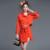 YNZZU Novo Outono Inverno 2 Peças de Roupas Conjunto das Mulheres manga Elegante Sólidos Casacos + Terno de Saia Moda Saias Cinto YO144