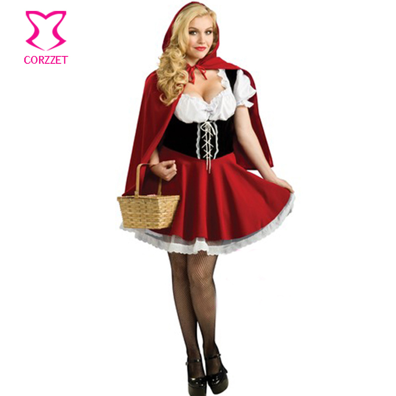 Big / Plus Size Cosplay Costume Little Red Riding Hood Sexy Dress Disfraces Adultos Carnaval Costume Women Halloween Costumes-in Sexy Costumes from Novelty ...  sc 1 st  AliExpress.com & Big / Plus Size Cosplay Costume Little Red Riding Hood Sexy Dress ...