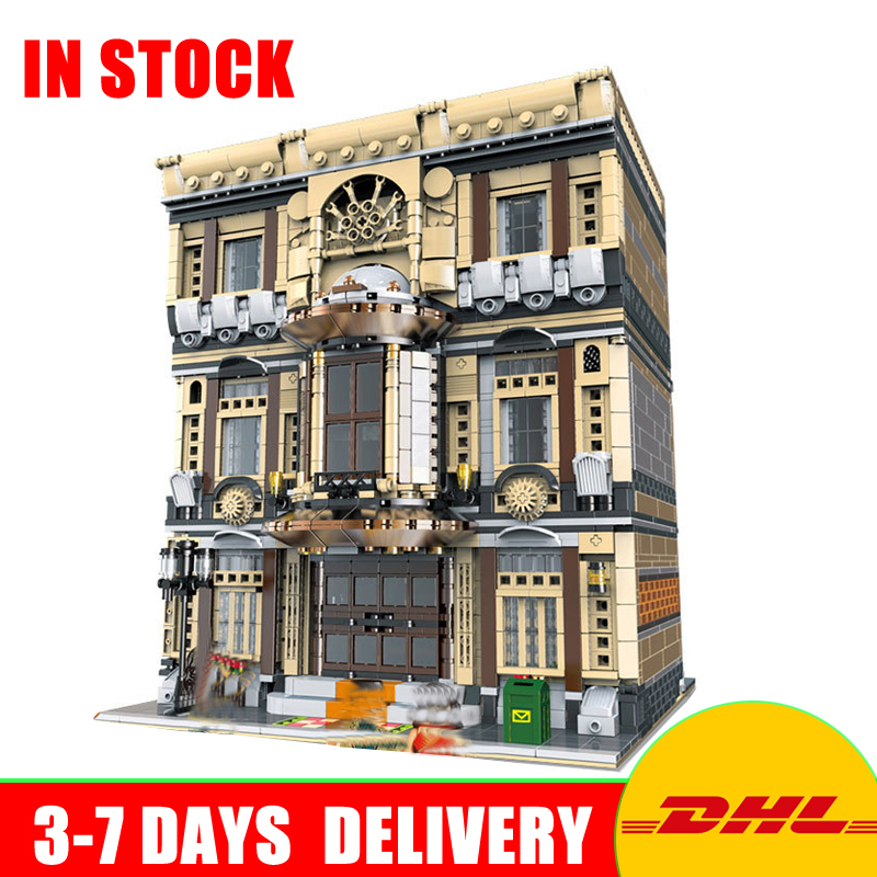 XingBao 01005 5052Pcs Genuine Creative MOC City Series The Maritime Museum Set Children Building Blocks Bricks Toys Model Gifts maritime safety