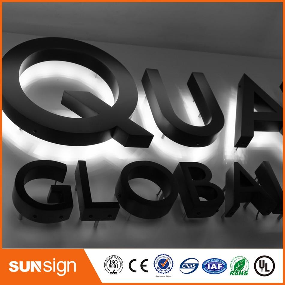 BackLit Acrylic 3D Letter Sign Channel LED Sign