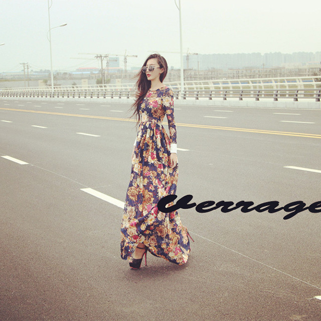 Free-Shipping-2013-Autumn-Women-Pleated-Print-Bohemian-Maxi-Dress-Europe-Vintage-Slim-Floor-Length-One.jpg_640x640.jpg