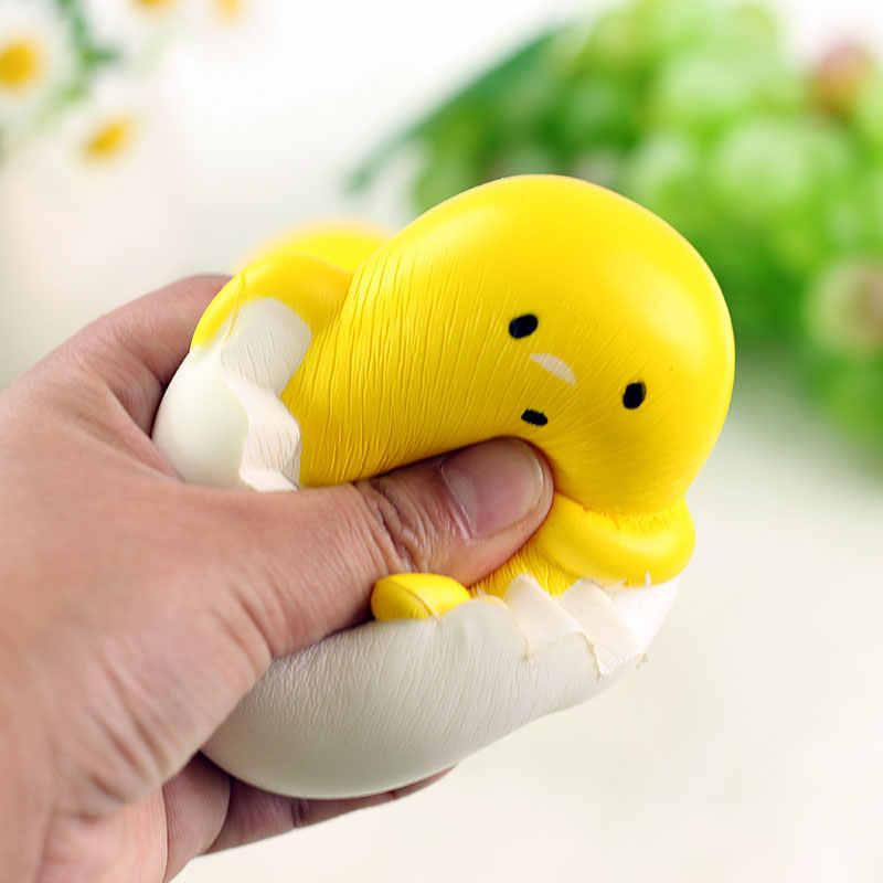 Мягкие Мультяшные ленивые эспандер в виде яйца игрушки новинки и игрушки для снятия стресса розыгрыши забавные сюрпризы популярные игрушки подвеска