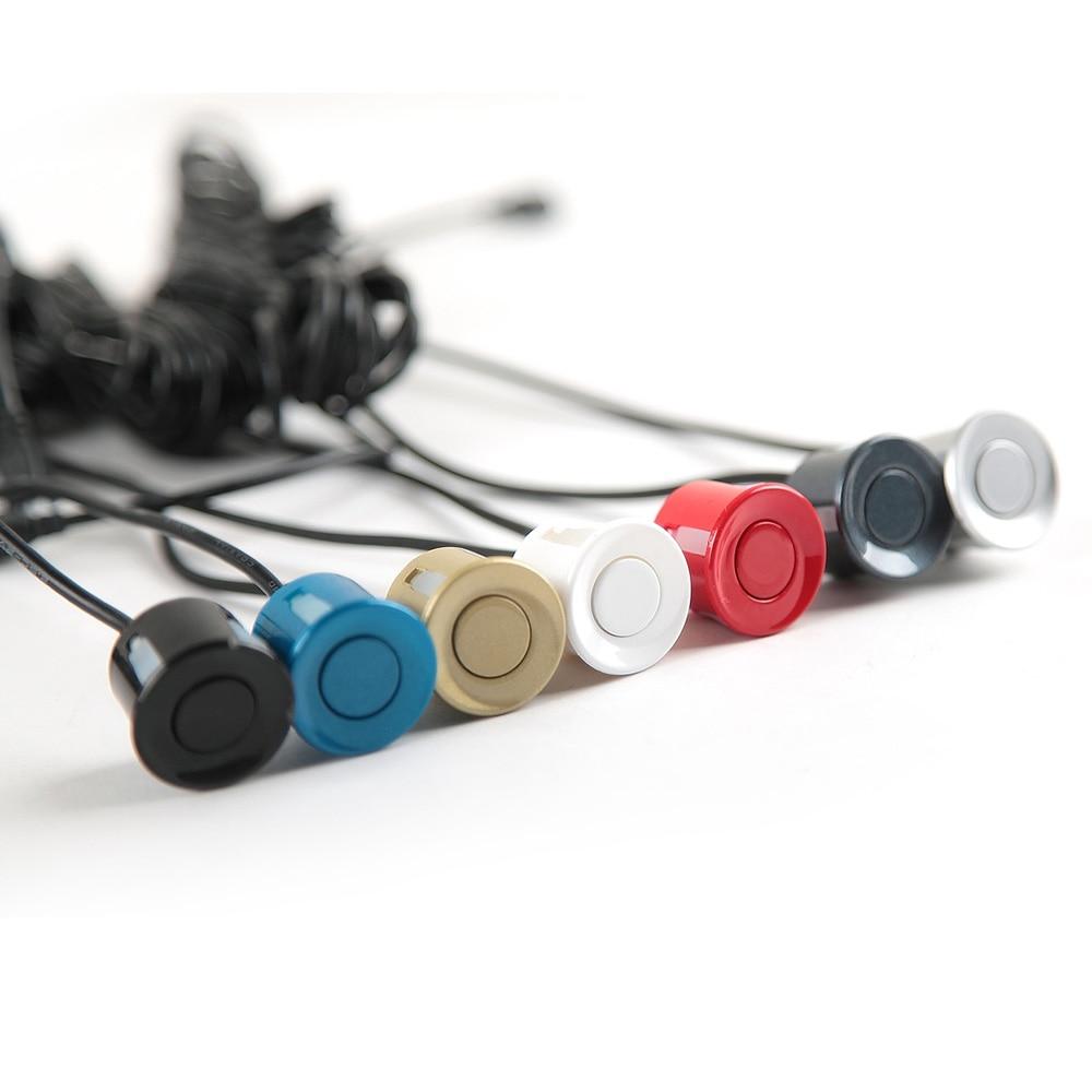 SINOVCLE датчик парковки автомобиля 1 шт. 22 мм черный, красный, синий, серебристый, золотой, белый, серый, шампань, золотой цвет для автомобиля обратная система