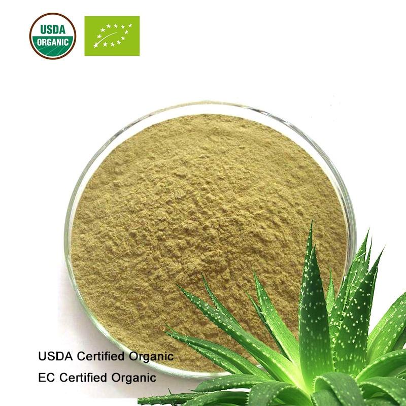 Schönheit & Gesundheit Kreativ Usda Und Ec Certified Organic Aloe Extrakt 10:1 Aloe-emodim Aloin Aloinoside A.b GroßEs Sortiment Gesundheitsversorgung