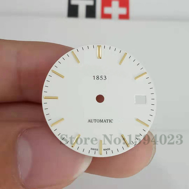 28.4mm watch dial for T95 C363/463A male mechanical T95 watch text watch accessories repair parts   Fotoflaco.net