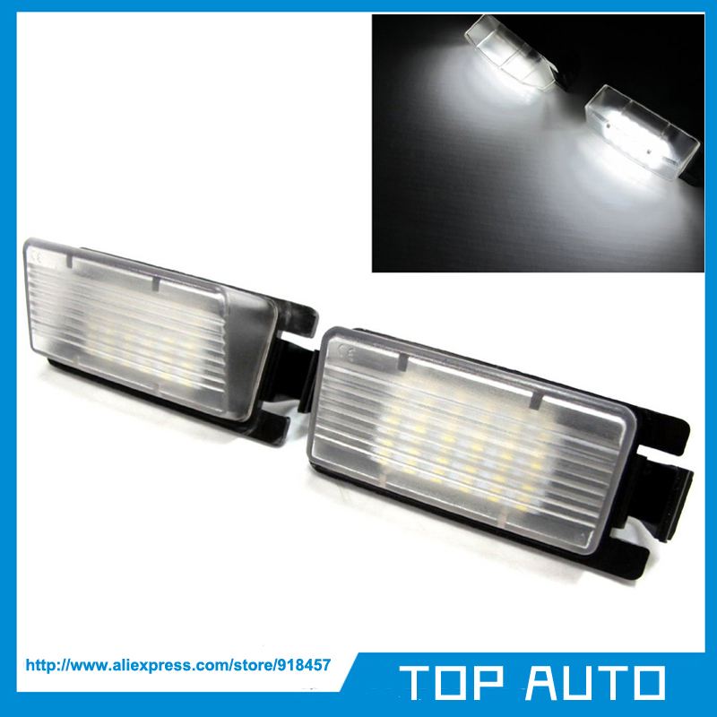 2Pcs No Error Rear LED License Plate Light OEM Replacement ...