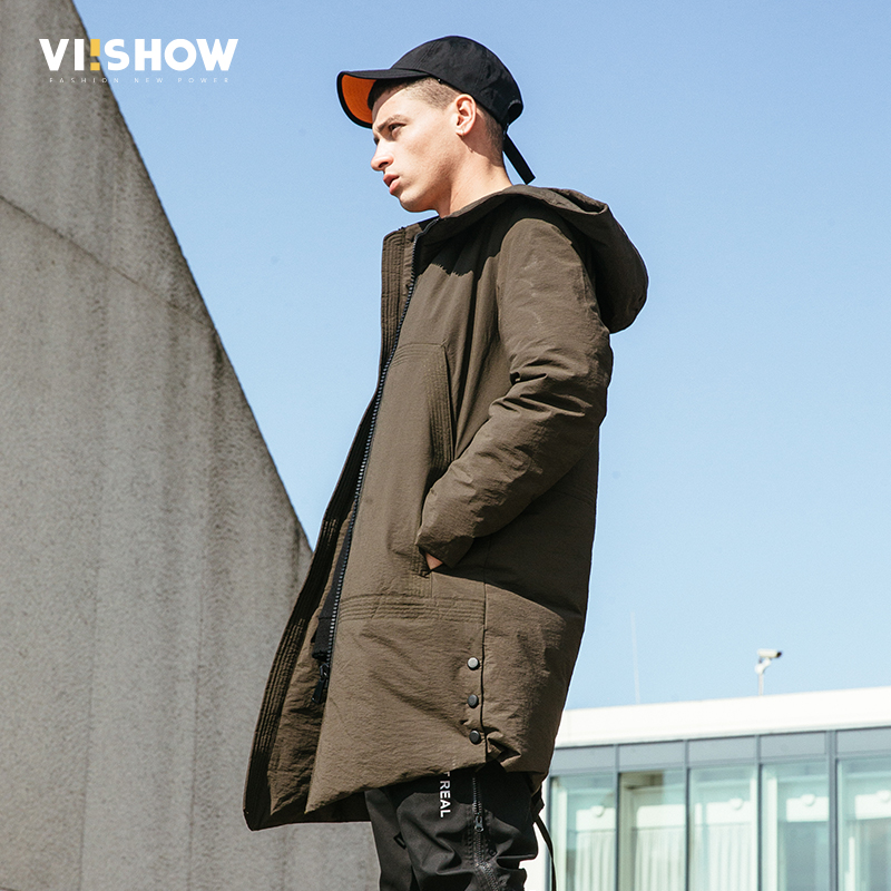 VIISHOW 2017 Winter Jacket Men Coat Army Green Duck Down Jacket Doudoune Homme Hiver Parka Men Coat Masculine Jacket YC2673174