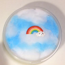 60ml Flaky Clouds Mud Mixing Cloud Slime Putty Scented Stress Kids Clay Toy Wholesale