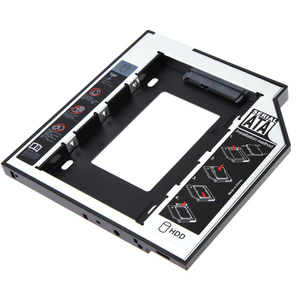 Universal 2.5 2nd 12.7mm SSD HD SATA Hard Disk Drive HDD Caddy Adapter Bay for 2.5