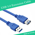 USB Extension Cable USB 3.0 Male A to USB3.0 Female A AM TO AF Extension Data Sync Cord Cable Adapter Connector