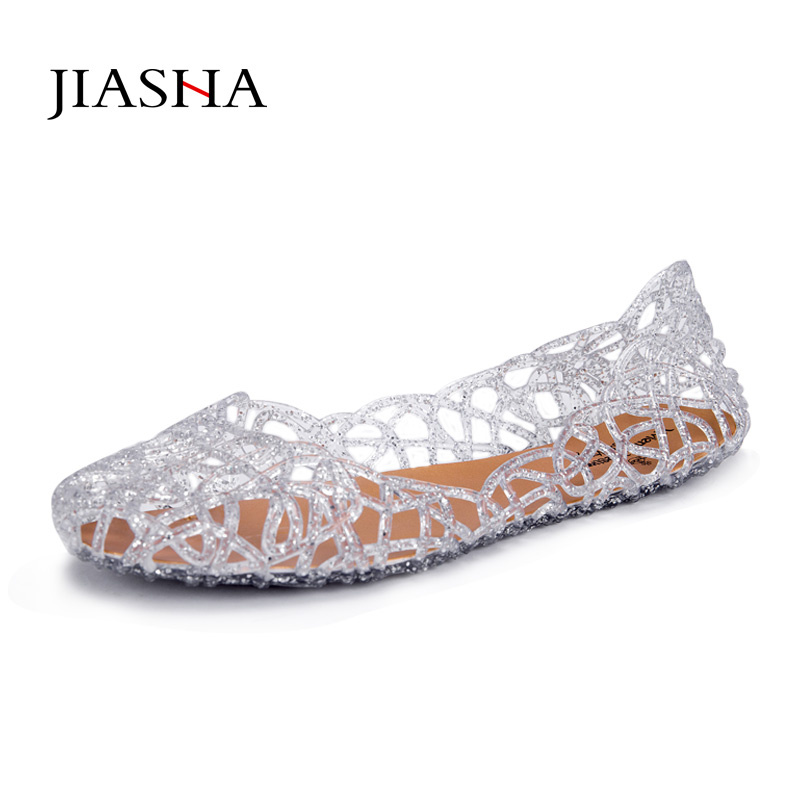 2017 fashion flat sandals shoes woman summer shoes jelly shoes Women sandals