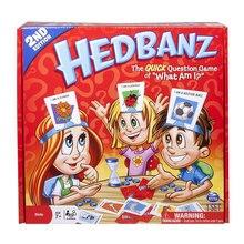 HedBanz Игра издание может варьироваться быстрый вопрос о том, что я карты настольная игра догадаться кто Новинка Забавные игрушки