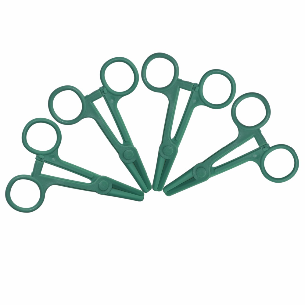 200Pcs/Lot Straight Head Scissors Style One-off Hygienic Medical plastic Hemostatic surgical Pliers 200pcs lot 2sa950 y 2sa950 a950 to 92 transistors