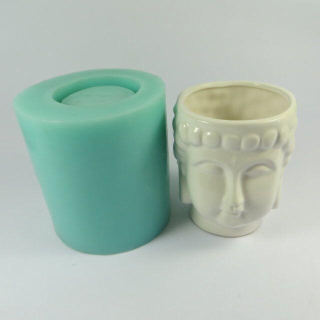 Szilikagél szilikon öntőforma 3d váza öntőformák cement - Konyha, étkező és bár - Fénykép 2