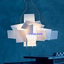 цены Big Bang Paper Piles Chandeliers Lights Fixture Modern Nordic Droplights Home Indoor Lighting Dining Room Pendant Lamp 95cm*65cm