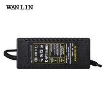 WAN LIN fuente de alimentación de CC, adaptador de cargador POE de 48V y 3A para cámara IP CCTV, inyector POE de NVR POE con Chip IC