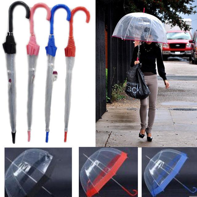 [ Fly Eagle ]100Pcs/Lot New Transparent Women Umbrella/ Rain Umbrella parasol umbrella hot sell
