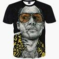 Nova Moda Abstrato Impressão Breaking Bad T-shirt Dos Homens Casuais T 3D Camisas Harajuku Tees Homem Heisenberg Camisas Roupas de Verão