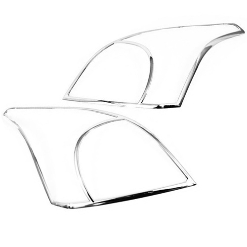 Couvre-tête chromé pour Toyota Prado Land Cruiser FJ120