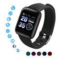 D13 Смарт-часы для мужчин и женщин для Android Apple телефон водонепроницаемый 116Plus трекер сердечного ритма кровяное давление кислородный Спорт ум...