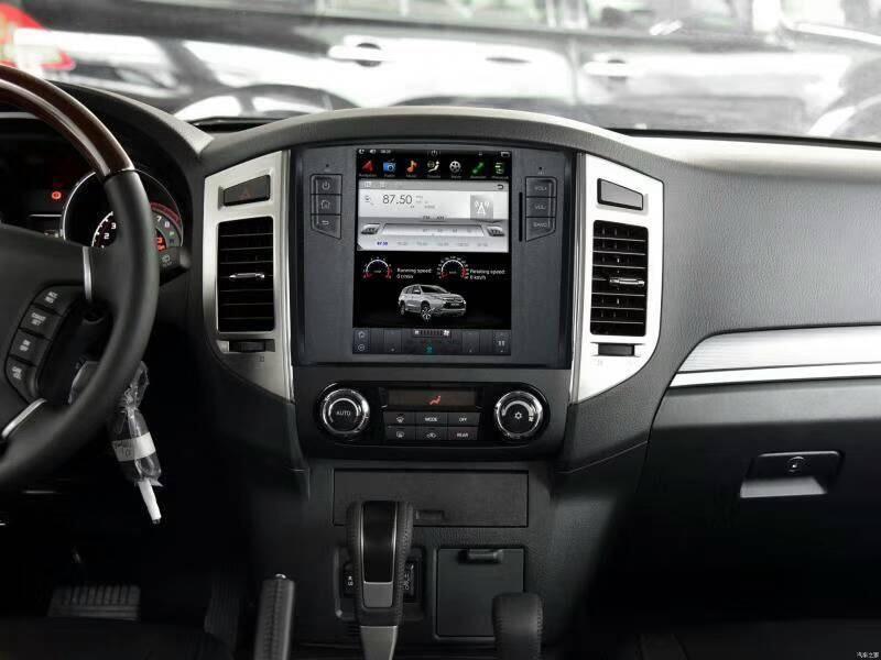 Tesla Style 2 Din Android 6.0 Autoradio GPS Navigation Lecteur DVD pour MITSUBISHI Pajero V97 V93 Shogun Montero 2008 -2016 1080 p
