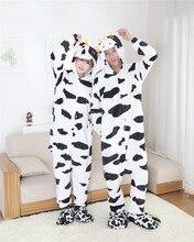 Kigurums корова Onesie пижамы спальный костюм Косплэй домашняя пижама для  дома одежда для сна 03508aa1dde85