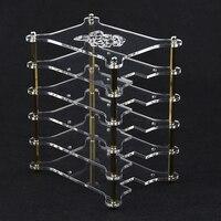 Raspberry Pi 3 Model B Acrylic Clear Case 5 Layer Transparent Shell Acrylic Enclosure Box