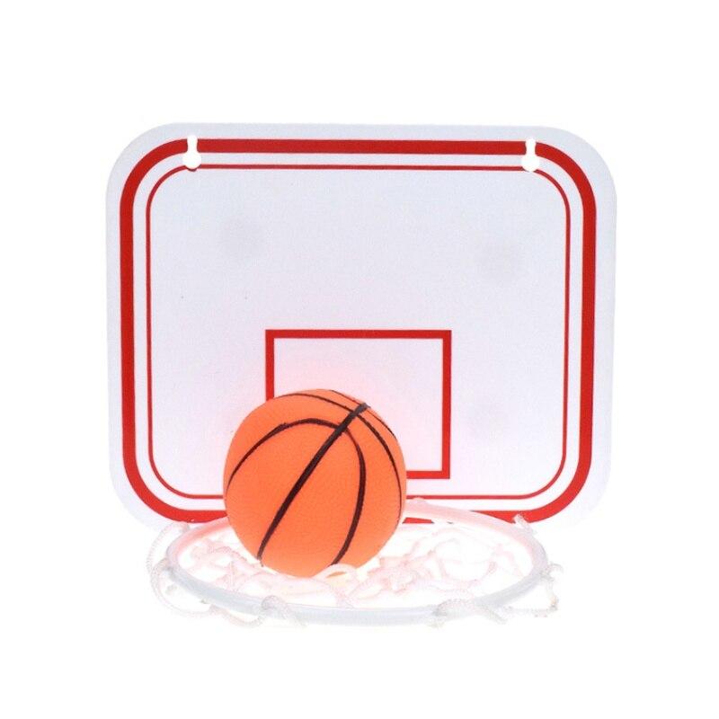 20*16cm Plastic Toy Rebounds Indoor Adjustable Hanging Basketball Netball Hoop Basketball Box Mini Basketball Board