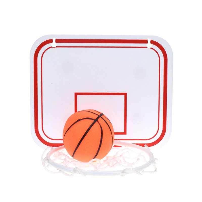 Rebotes 20*16 cm Brinquedo de Plástico Interior de Suspensão Ajustável Basquete Netball Argola Caixa de Basquete Placa De Basquete Mini