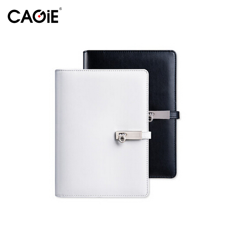 CAGIE 2017 Black/White Vintage Notebooks A5/A6 Planner Organizer Agenda Travelers Diary Journal Office Spiral Notebook xkai 14pcs 6 19mm ratchet spanner combination wrench a set of keys ratchet skate tool ratchet handle chrome vanadium