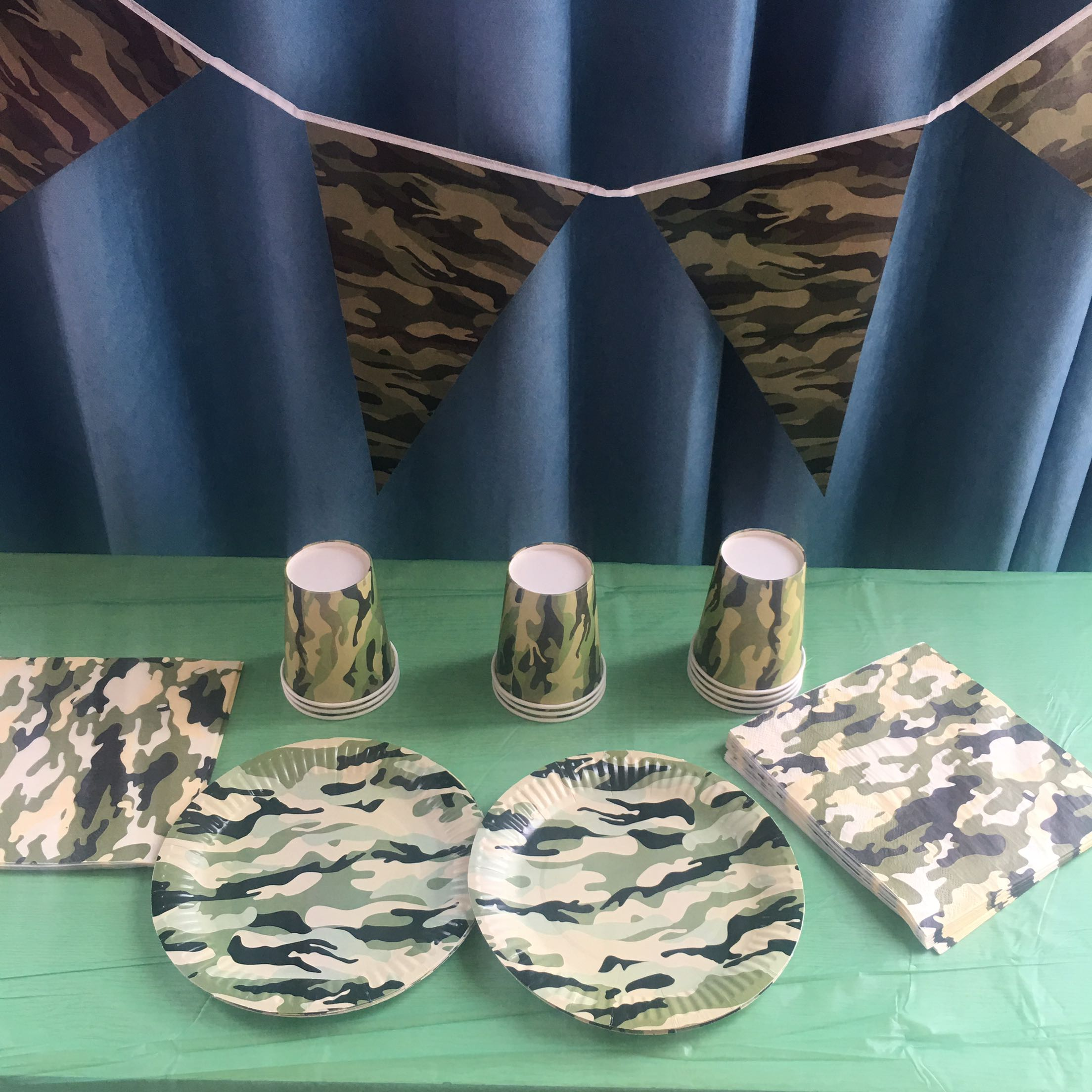 Camo Birthday Party Supplies Personalized Pink Camo Banner Hunting Birthday Party Girls Camo Birthday