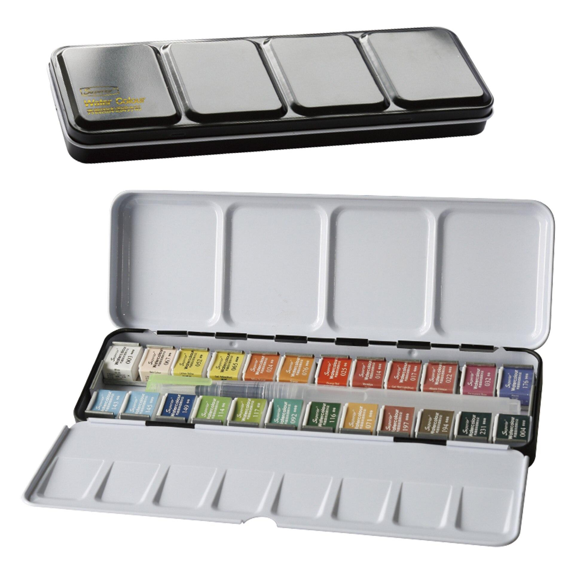 Superior 12 24 36 48 Cores Pigmento