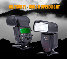 VILTROX JY680CH 1/8000s Wireless Hot Shoe Camera Flashlight Flash Light  Speedlite with LCD Screen for Canon EOS 650D 600D 550D