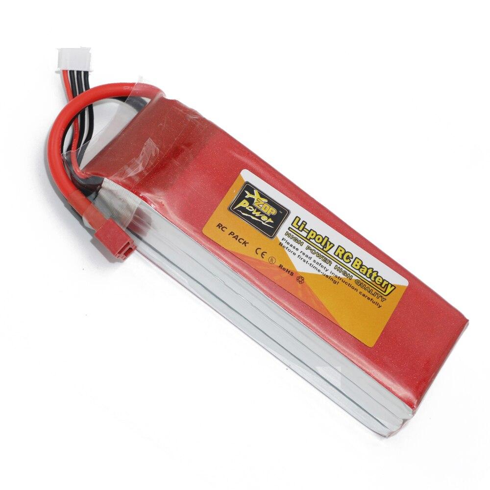 1 unids ZOP Power Lipo batería 11.1 V 5000 mAh 3 s 30C Lipo li-poli batería