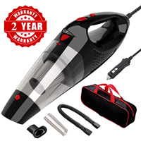 Strong Power Car Vacuum Cleaner DC 12 Volt Wet/Dry Auto Vacuum Cleaner With storage bag and Led light
