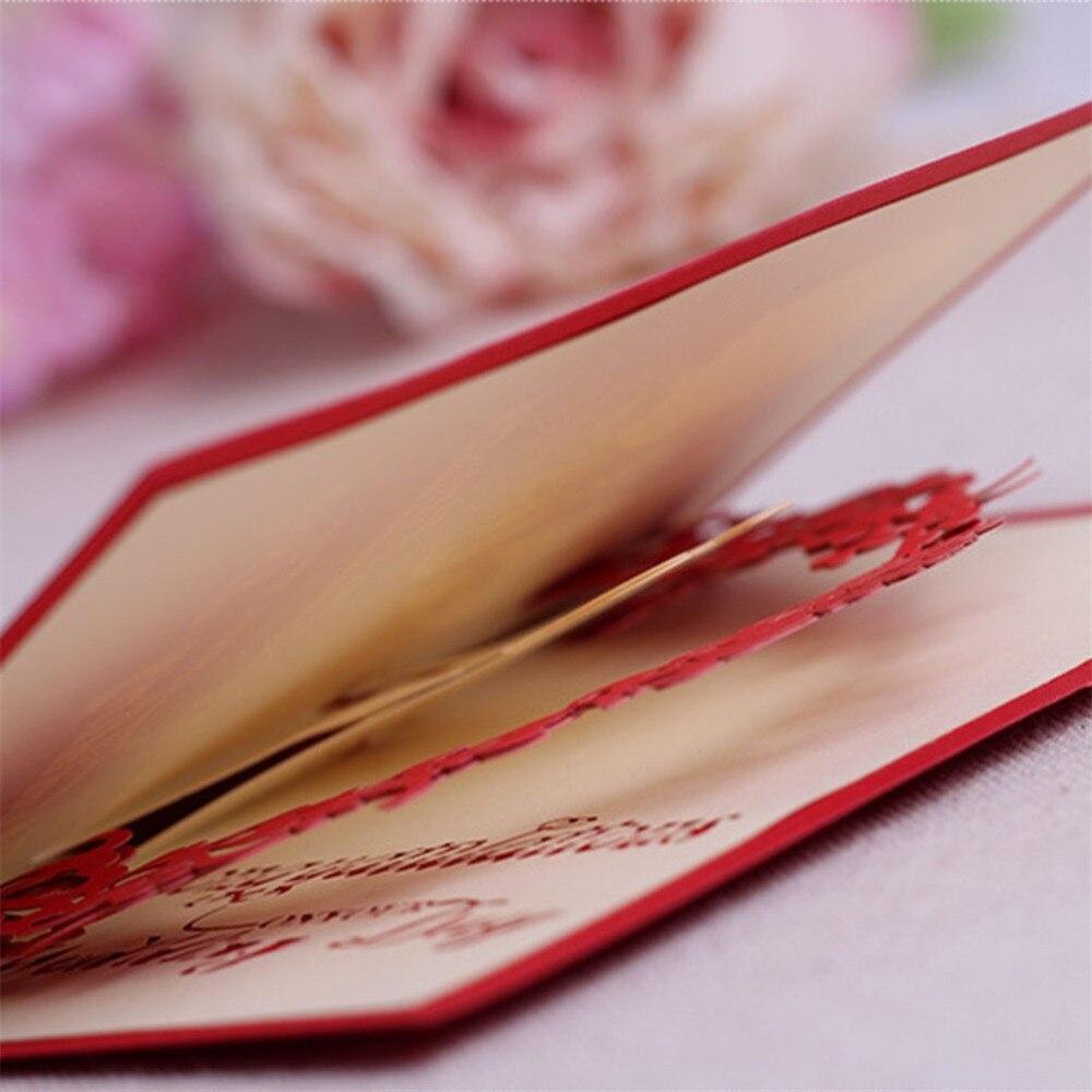 3D Pop Up Greeting Card Wedding Flower Arch Sweety Wedding ...