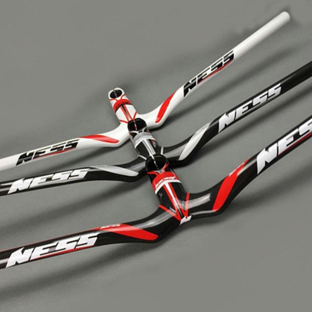 Guidon en carbone NESS vtt guidon intégré guidon de vélo VTT en carbone 600-720*90-120mm