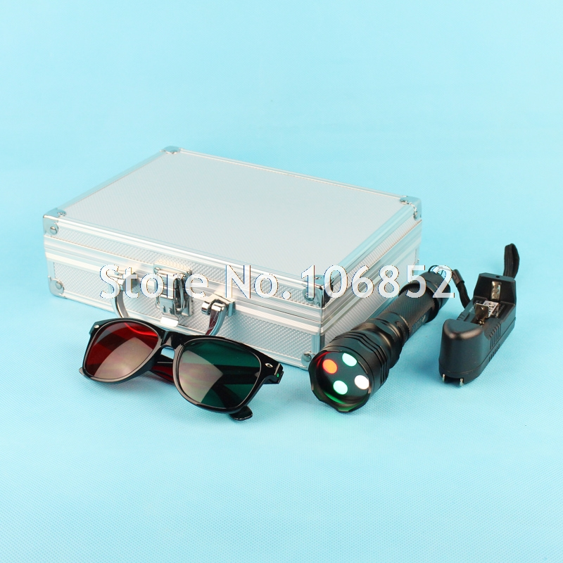 Ophthalmic Worth 4 Dot Test Red Green Glasses Aluminium Case