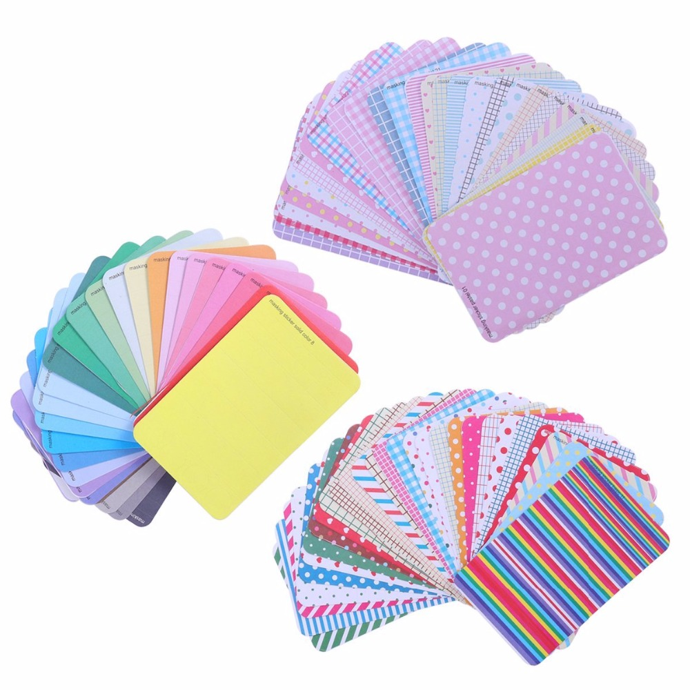 Masking Sticker Set 27 Sheets Stickers Scrapbooking, Sticky Notes, Sticker Paper Colorful Paper Tape, Korea Cute Tape Stickers