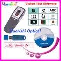Nuevo nuevo embalaje profesional prueba de Vision de pruebas de Software negro Hard cartón caja embalan envío gratis