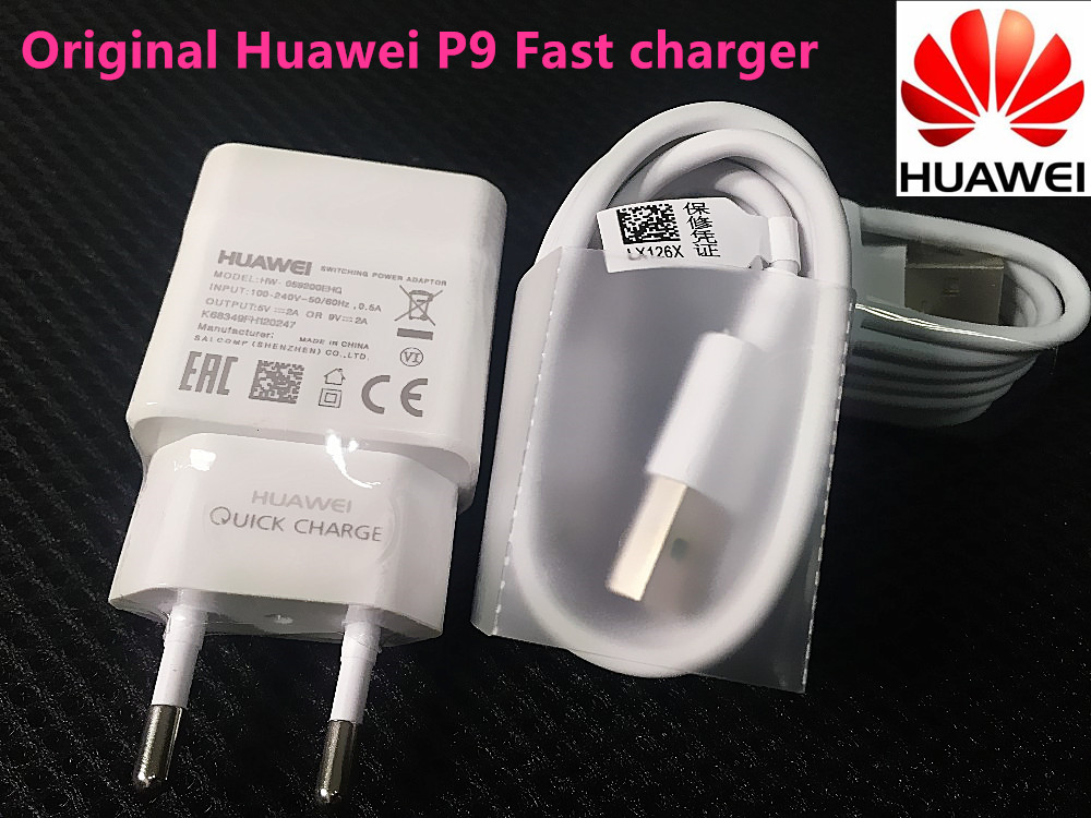 Original Huawei Quick Charger For P9 Plus P8 Lite Honor 8