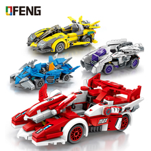 Technic City Super Racers Model Building Blocks Bricks Figures Racing Car compatible цена